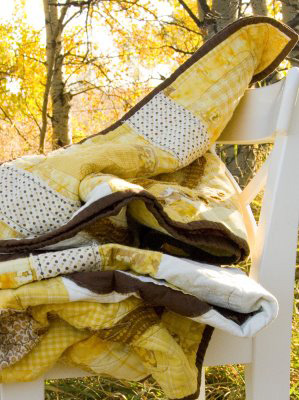 Yellow quilt giveaway