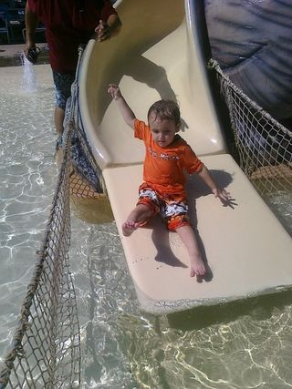 Iowa park slide